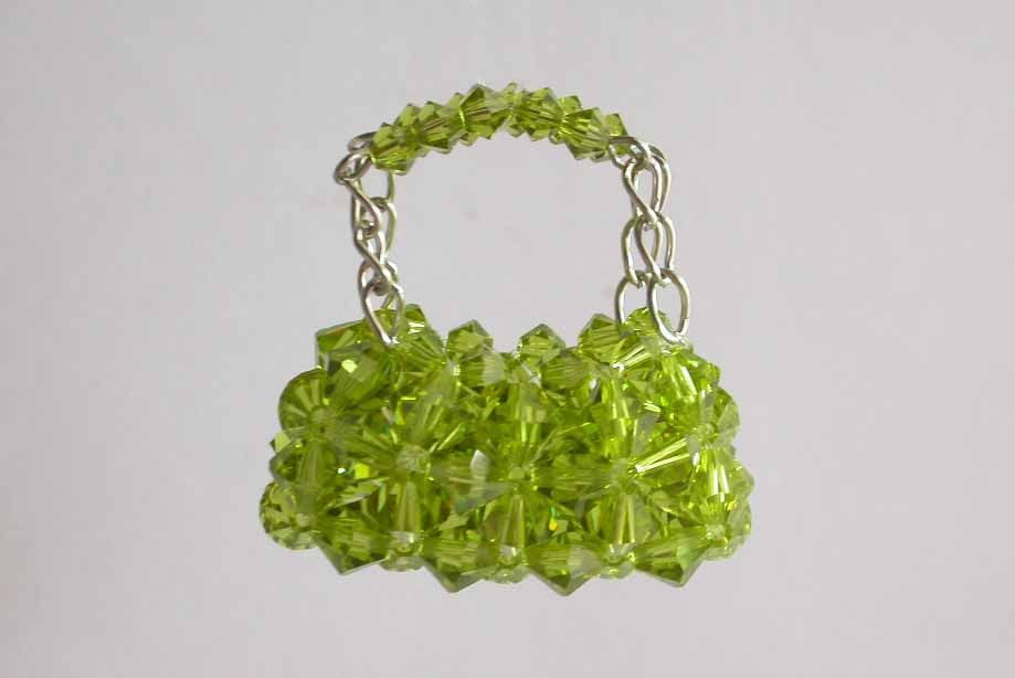 How to make a beaded bag charm with Right Angle Weave | Tuttorials ...