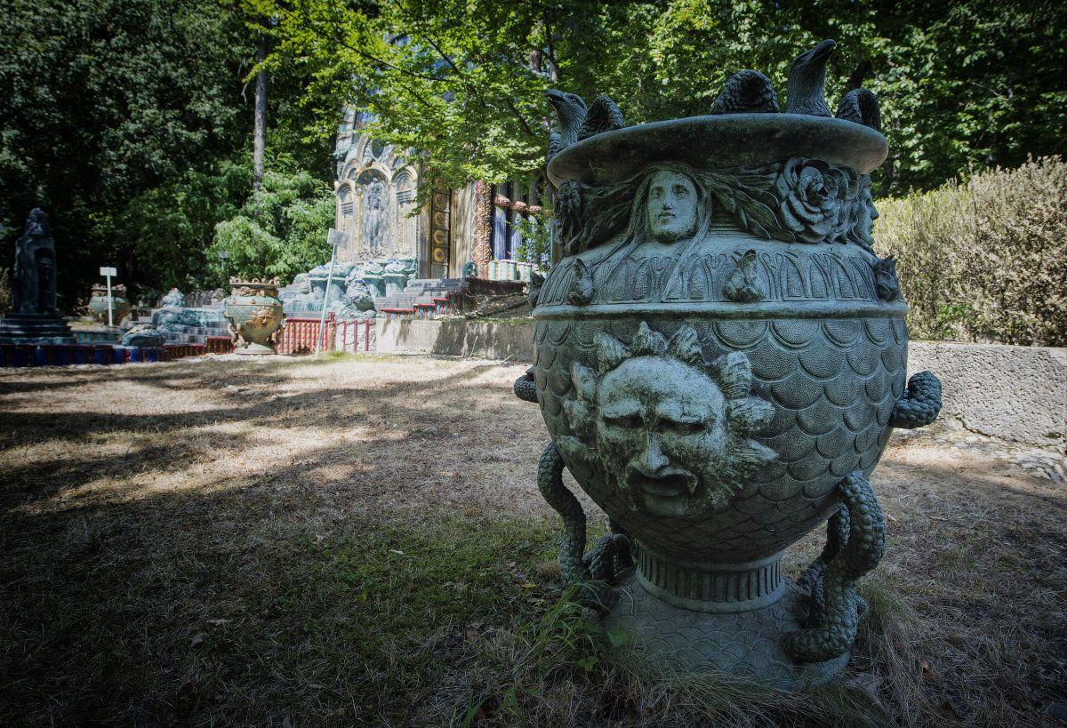 Die von Otto Wagner 1888 erbaute und von Ernst Fuchs renovierte Villa in der Hüttelbergstraße, die in Form eines Privatmuseums auch der Öffentlichkeit zugänglich ist. Foto: KURIER / Jeff Mangione