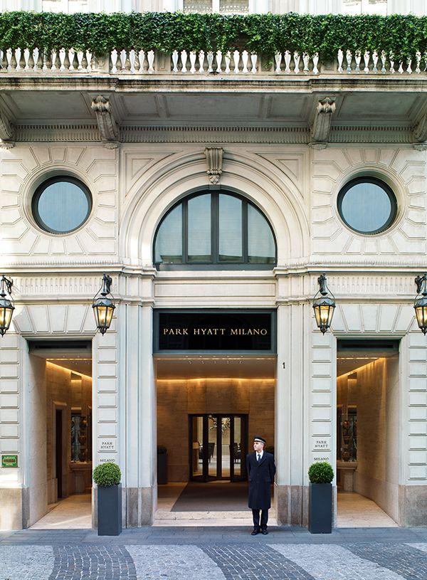 Park hyatt milano best hotel in the world for service for Service design milano