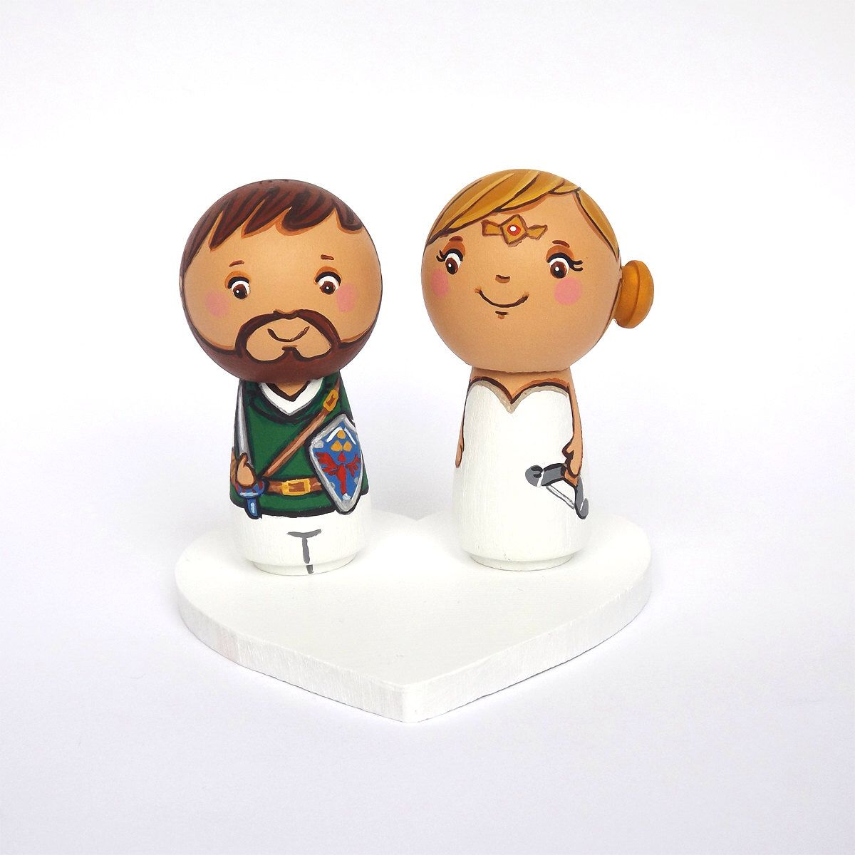 The Legend of Zelda wedding cake topper Gamer wedding cake topper ...