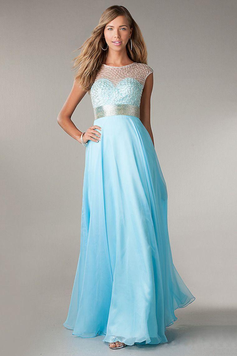 383bdb970aa8 Buy Fresh Prom Dresses Scoop Neckline Beaded Bodice Open Back Floor Length  latest design at online