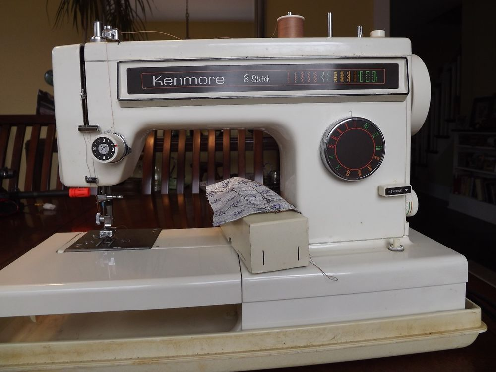kenmore sewing machine 158 12511 manual for instant download rh pinterest com Sears Kenmore Sewing Machine Manual Kenmore Model 158 Sewing Machine