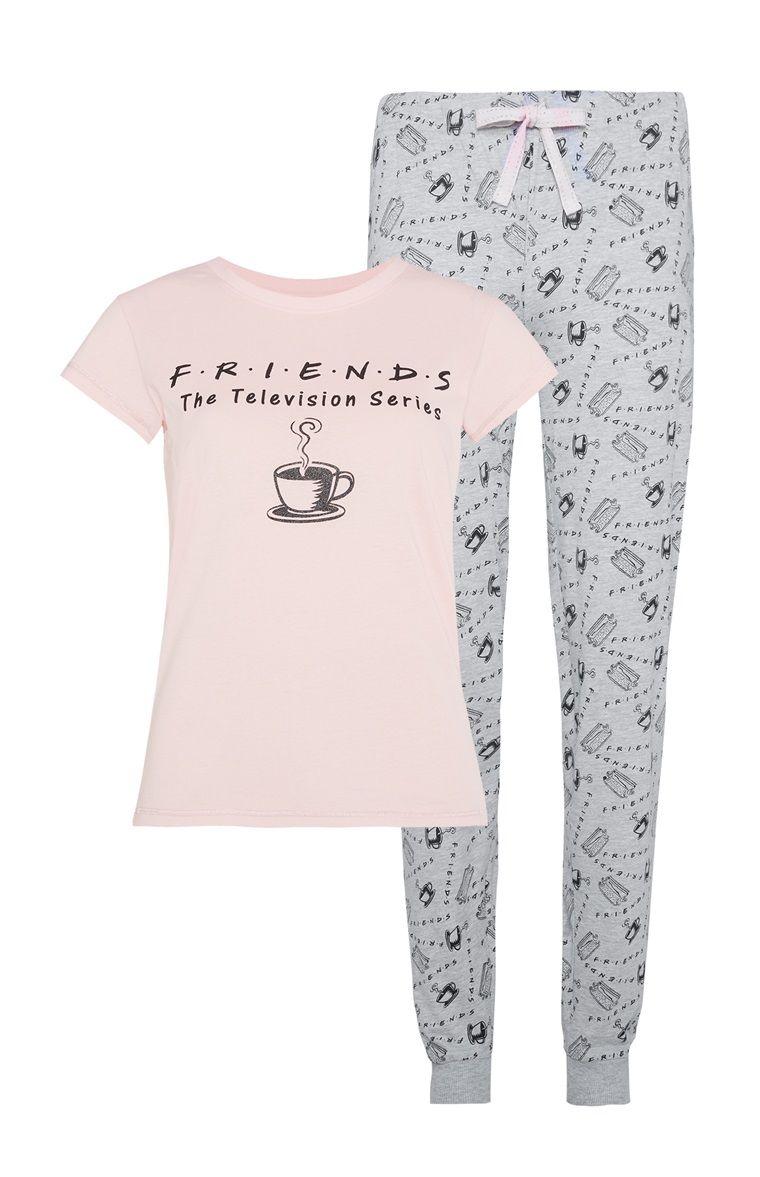 5582b638 Primark - Friends Pyjama Set | Reb in 2019 | Pajamas, Pajama shorts ...