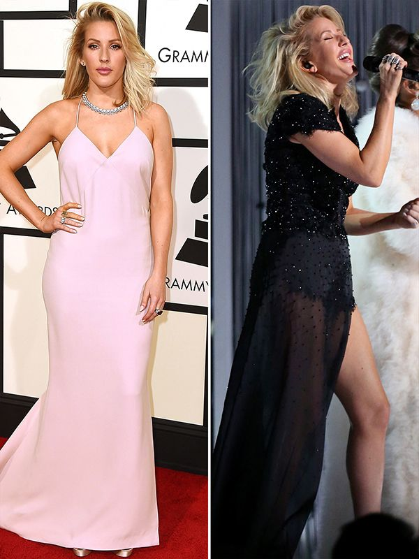 Ellie Goulding Grammys 2016