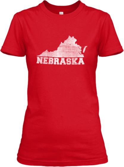 Virginia for Nebraska Women's T