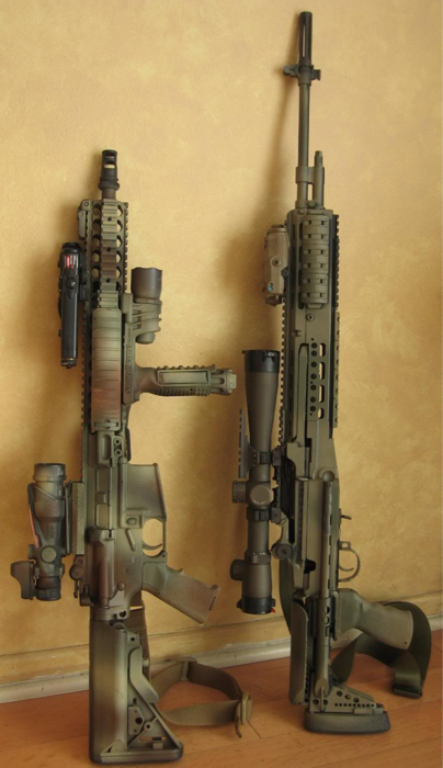 AR-15 & Sniper Rifle