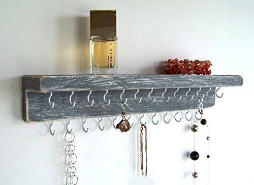 Jewelry Organizer By Out Back Craft Shack Wall Necklace