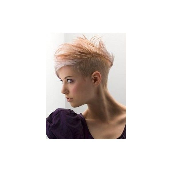 Women's Short Mohawk Hair Styles found on Polyvore