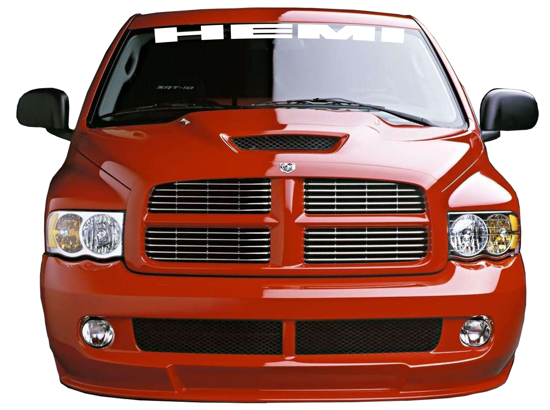Hemi Fits Dodge Ram 1500 Srt 10 Front Windshield Banner Decal Dodge Ram Dodge Ram Srt 10 Dodge Ram 1500
