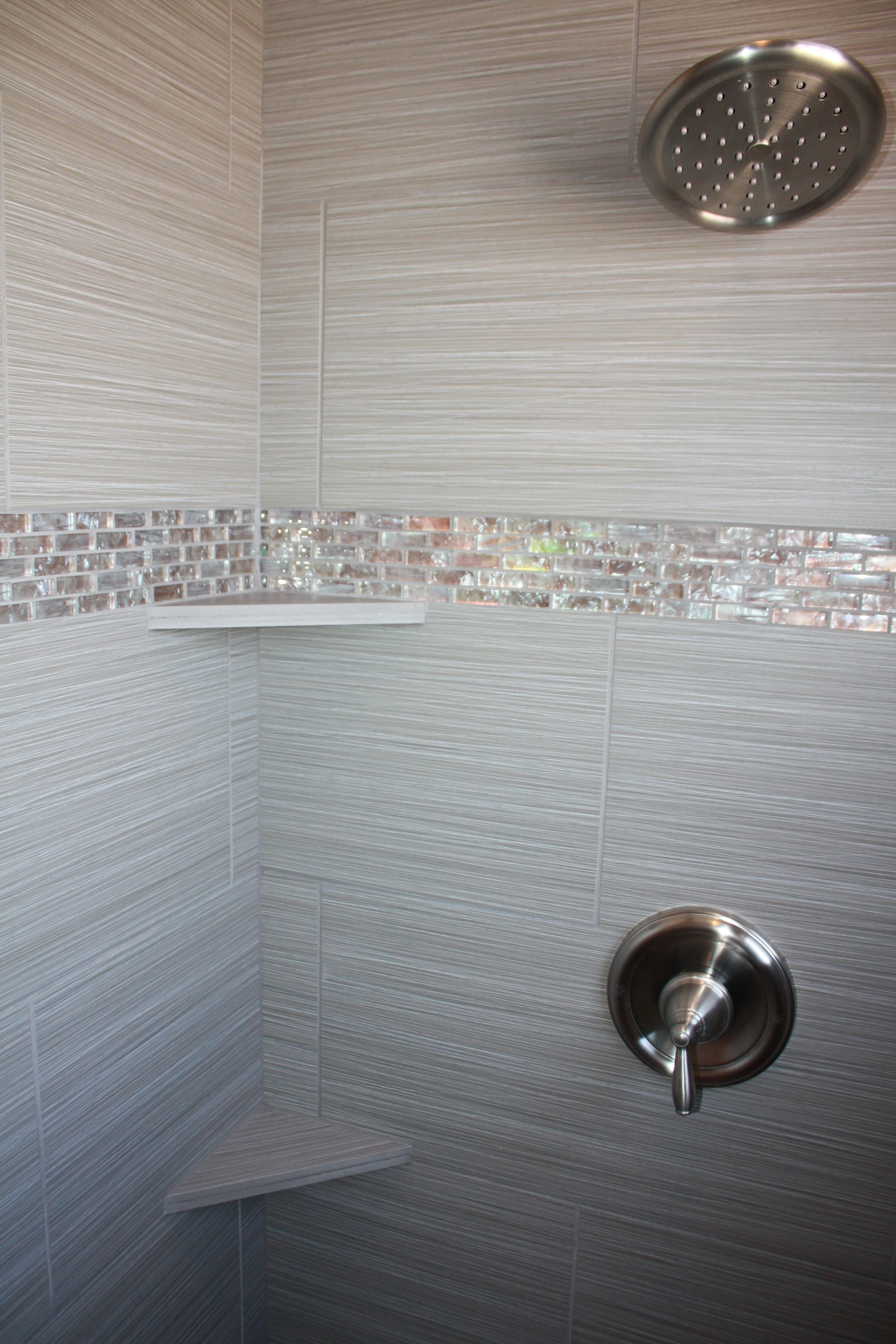 Glass Shower Designs And Shower Tile Design Sh Home Design Houzz With Images Bathroom Tile Inspiration Tile Bathroom Bathroom Tile Designs