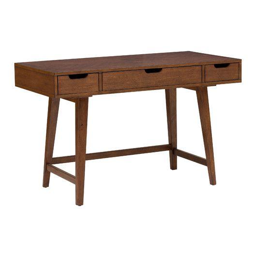 Corrigan Studio Artifore Mid Century Writing Desk Mid Century Writing Desk Wood Writing Desk Writing Desk