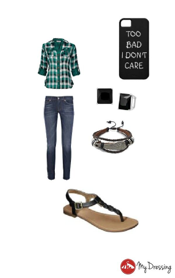 Casual but people will notice you for your style