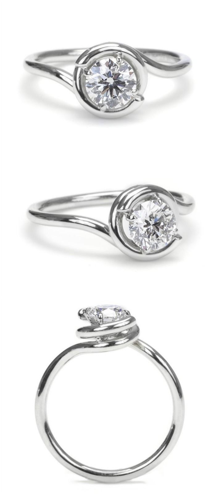 settings ring jewellery diamond platinum