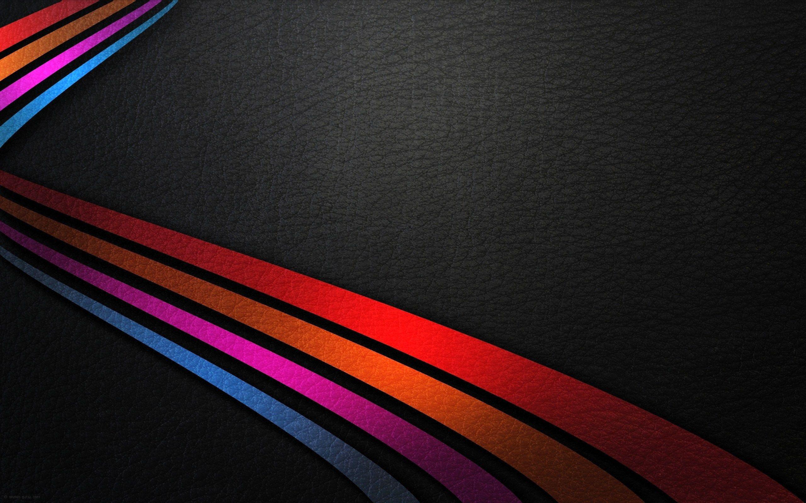 Lines Of Colour Hi Def Background