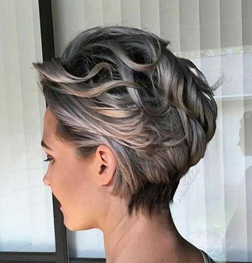 Image result for short grey hair ideas