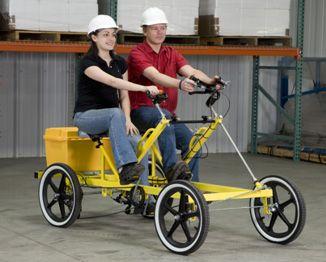 2-Person Transporte | DIY: Pedal Car | Three wheel bicycle