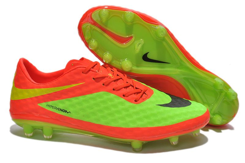 Football Boots Customize Your Own Nike Hypervenom Ronaldo FG ACC Junior  Pink Yellow Cleats