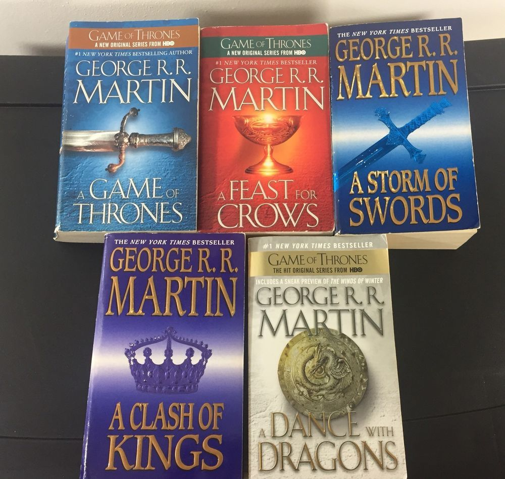 A Song Of Ice And Fire Game Of Thrones Series Set Mass Market
