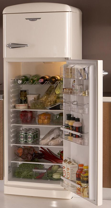 lec-retro-top-mount-fridge-freezer-open.jpg | Blue Planet bungalow ...
