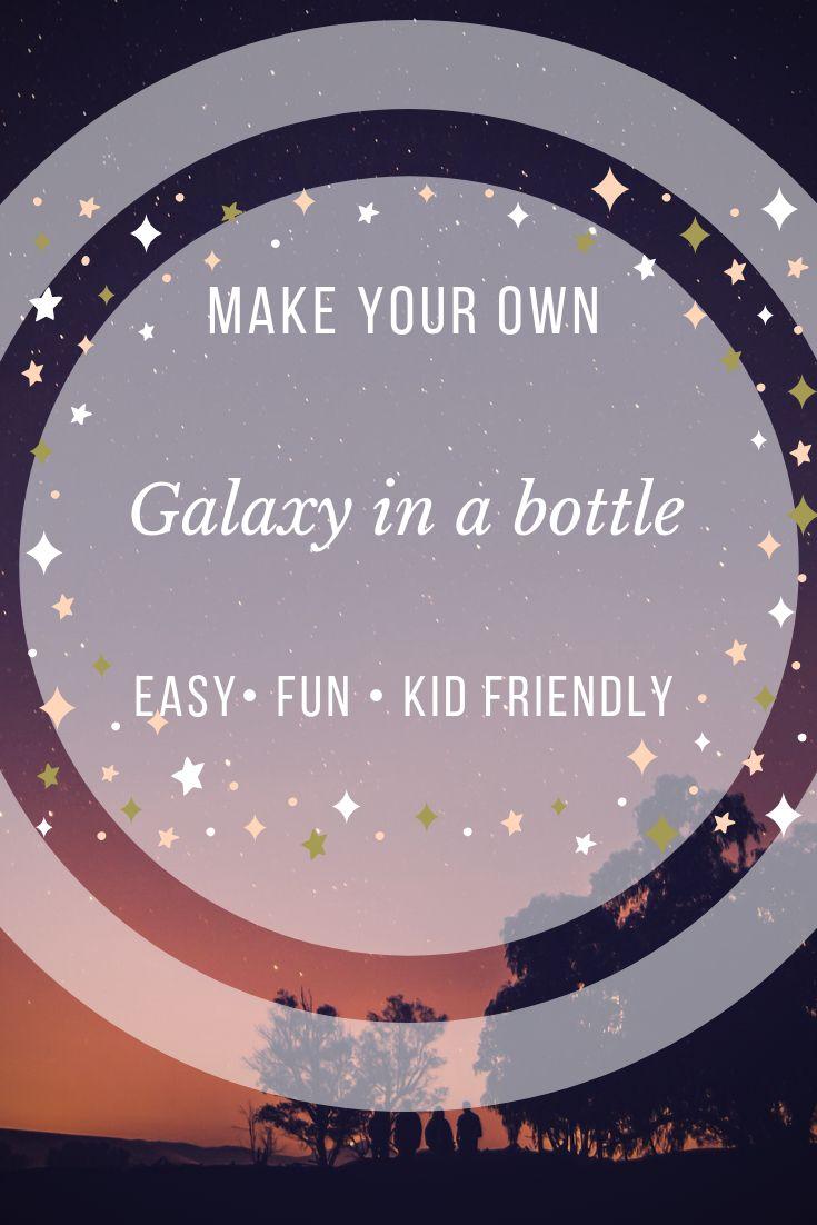 DIY Galaxy bottle crafts – Shesbeaming