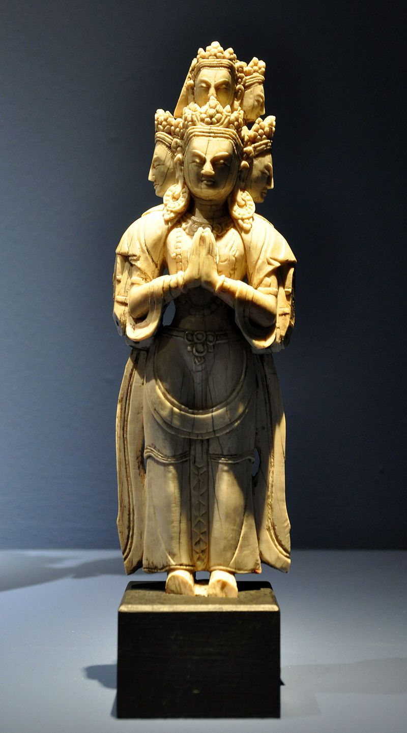 Bodhisattva Avalokitesvara Nepal Linden-Museum 122185 - Elfenbeinschnitzerei – Wikipedia