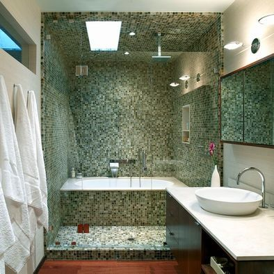 Wet Room Bathroom Designs Amusing Wet Room With Tub And Shower Together  Wet Room Shower Design Design Inspiration