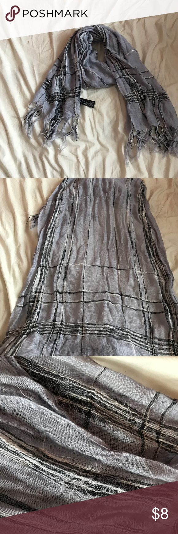 Forever 21 scarf In good condition with some flaws shown that are not noticeable when worn Forever 21 Accessories Scarves & Wraps