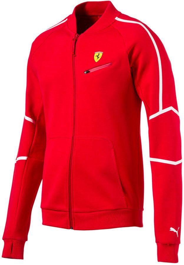3e3927d2f Puma Ferrari Men's track jacket, men's running jacket, track jacket, soccer  jacket,