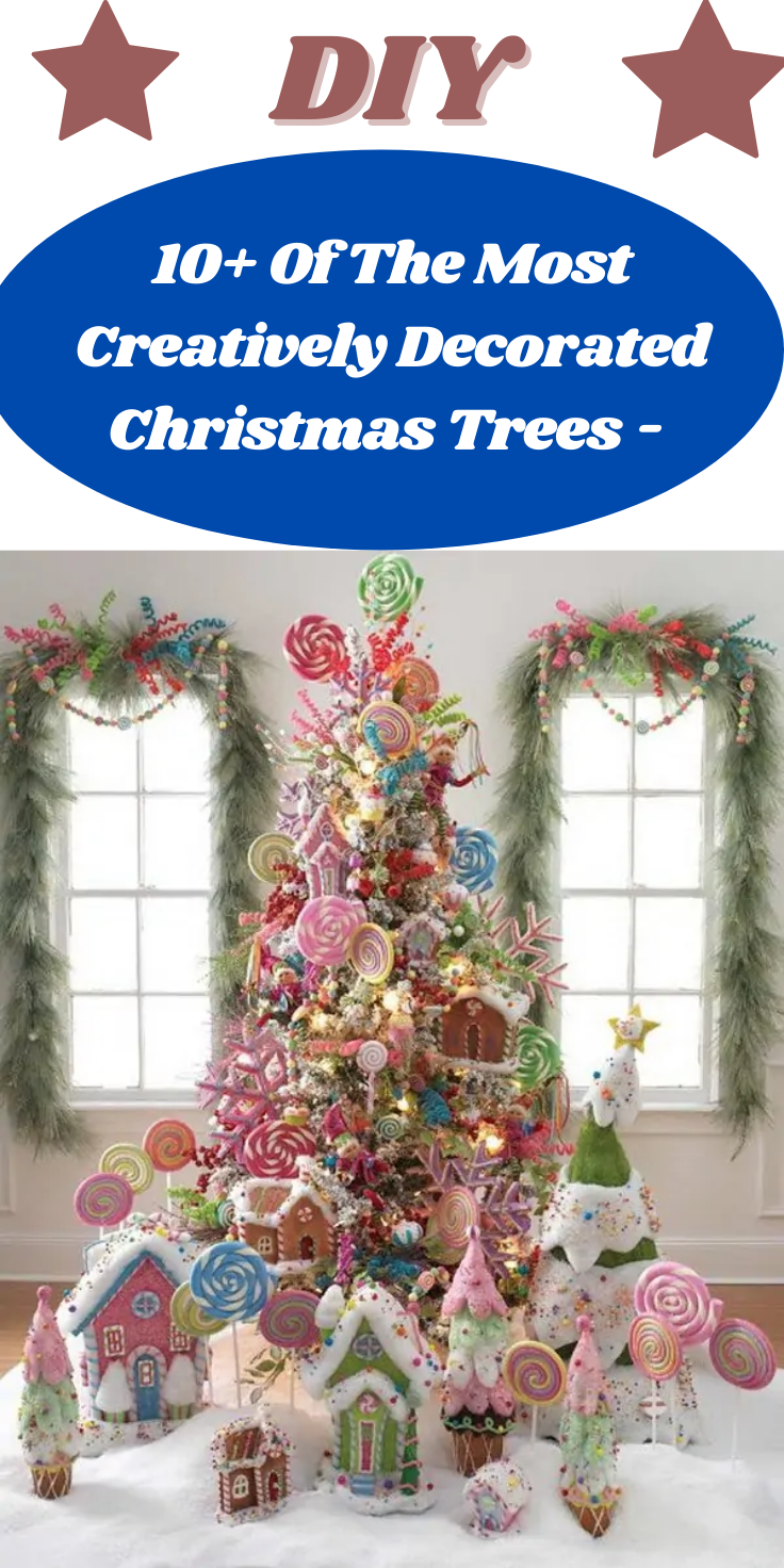 15 Zany Christmas Trees With The Craziest Decorations Would You Decorate Your Tree Like These In 2020 Christmas Decor Diy Christmas Diy Diy Life Hacks