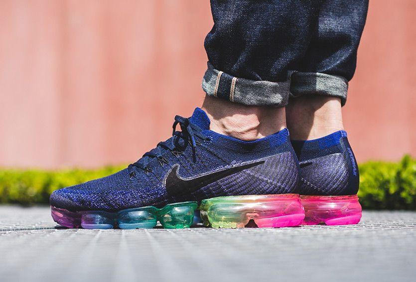Nike Vapormax Strap On Feet