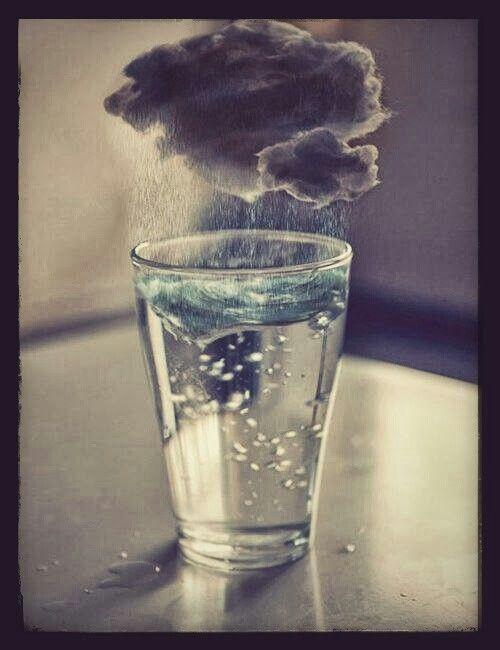 Tempête Dans Un Verre D'eau : tempête, verre, d'eau, Tempête, Verre, Nuage,, D'eau, Photographie
