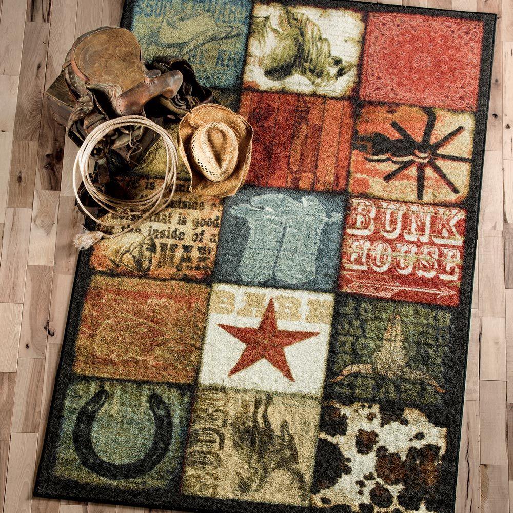 Cowboy Way Rug Collection Western Rugs Rugs Cowboy Rugs