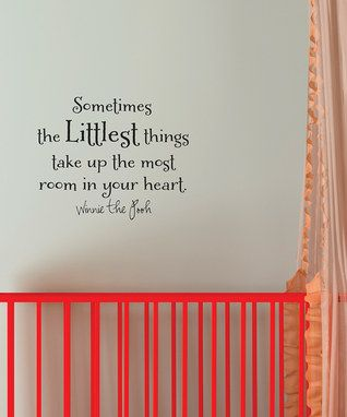 'Littlest Things' Wall Decal