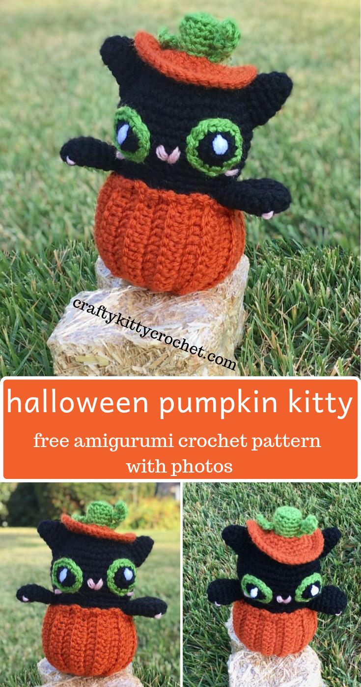 5 Free Halloween Amigurumi Crochet Patterns - Sweet Softies | Amigurumi and  Crochet | 1400x735