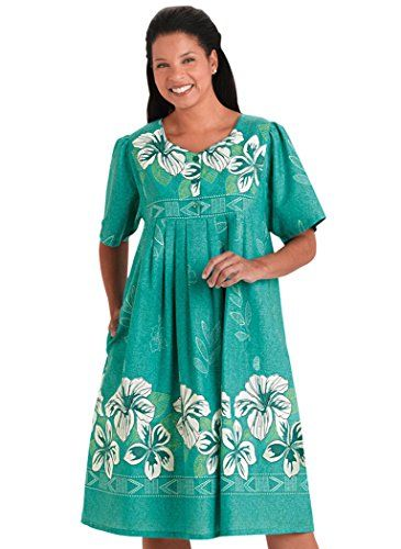 Border Print Patio Dress Learn More By Visiting The