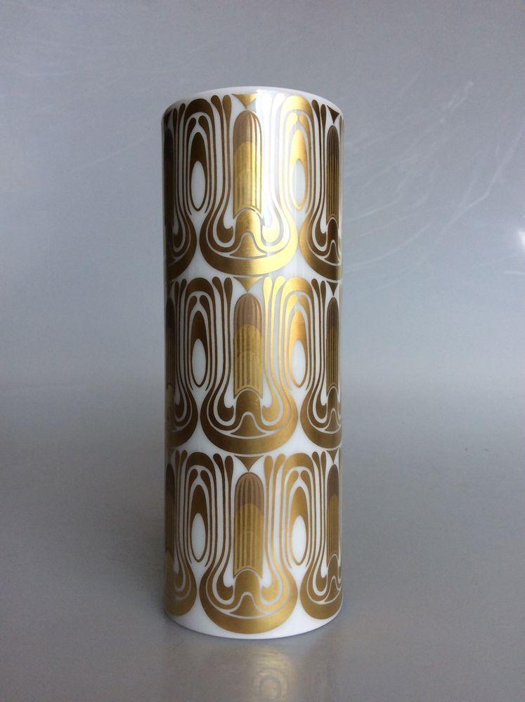 60s Rosenthal Studio Line Vase By Bjoern Wiinblad Studio And Pottery