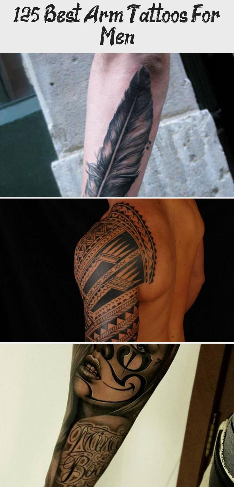 Clock Rose Front Arm Tattoo Designs For Men Best Arm