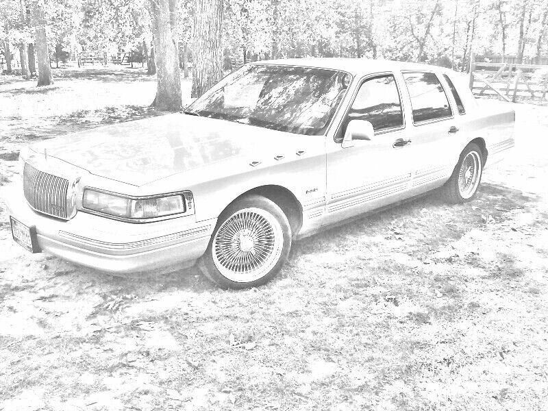 My First Car A 97 Lowrider Lincoln Town Car Rides I Want Own Ed