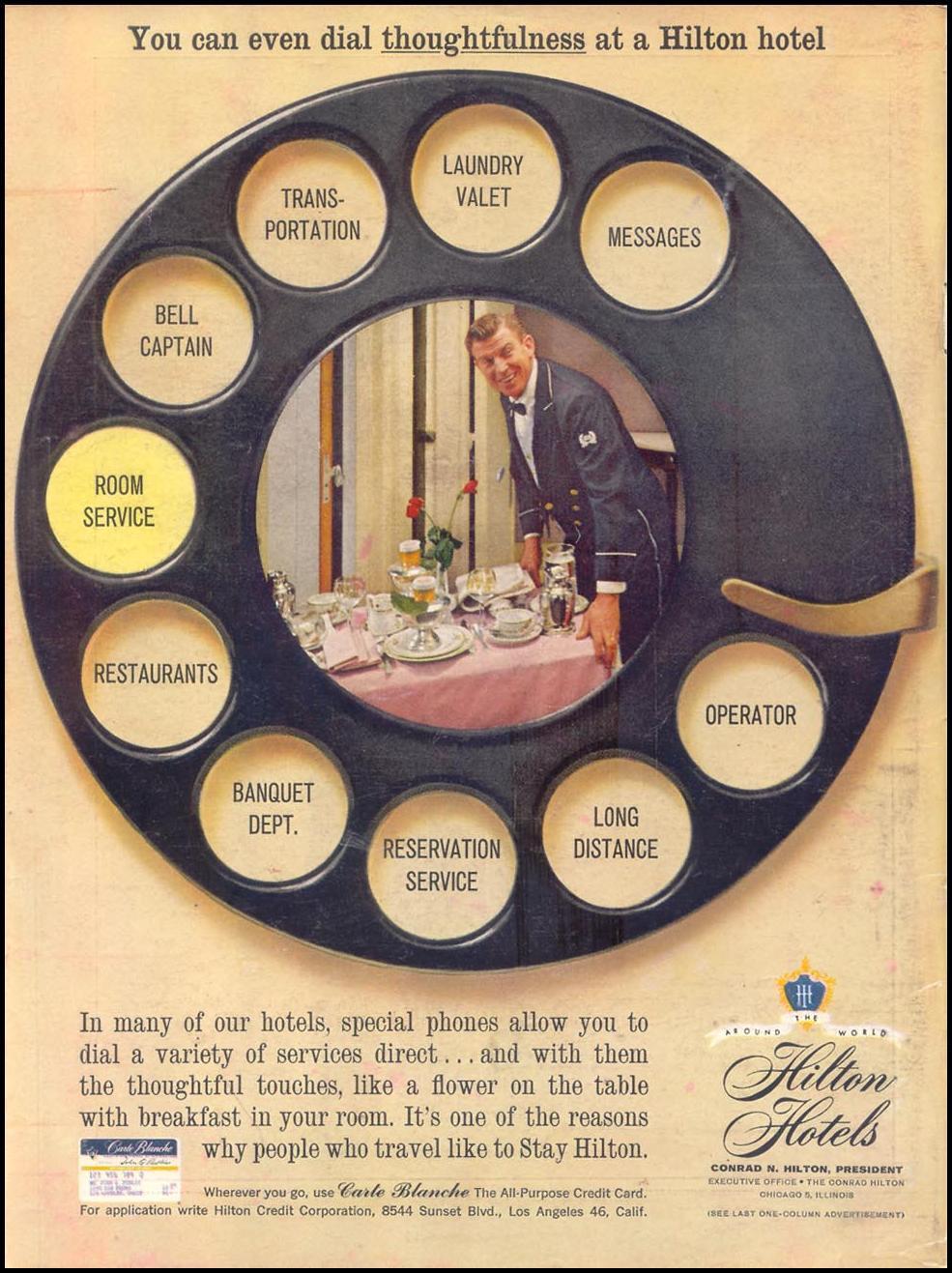 Clint Stevens Hotel Ads Hilton Hotels Retro Ads