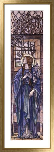 Hope: Design For Stained Glass At All Saints Church, Eastchurch.  Karl Parsons.