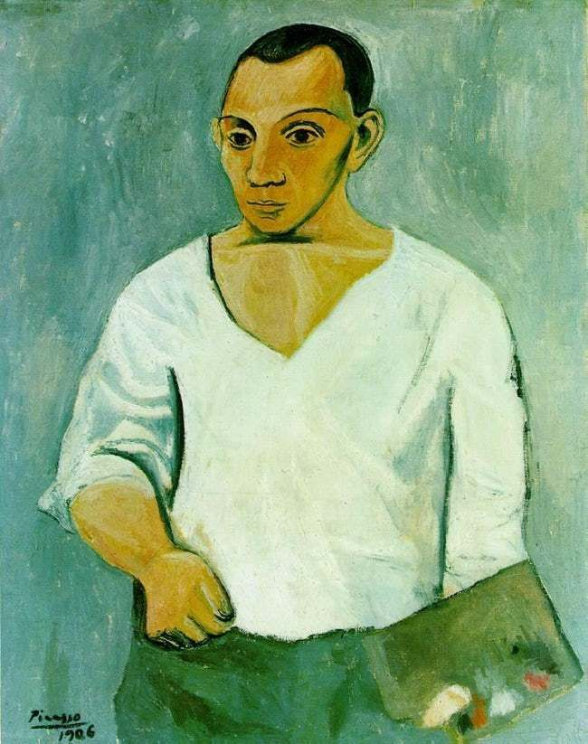 Autoportrait à la palette is listed (or ranked) 134 on the list The Most Amazing Pieces of Artwork Ever Made