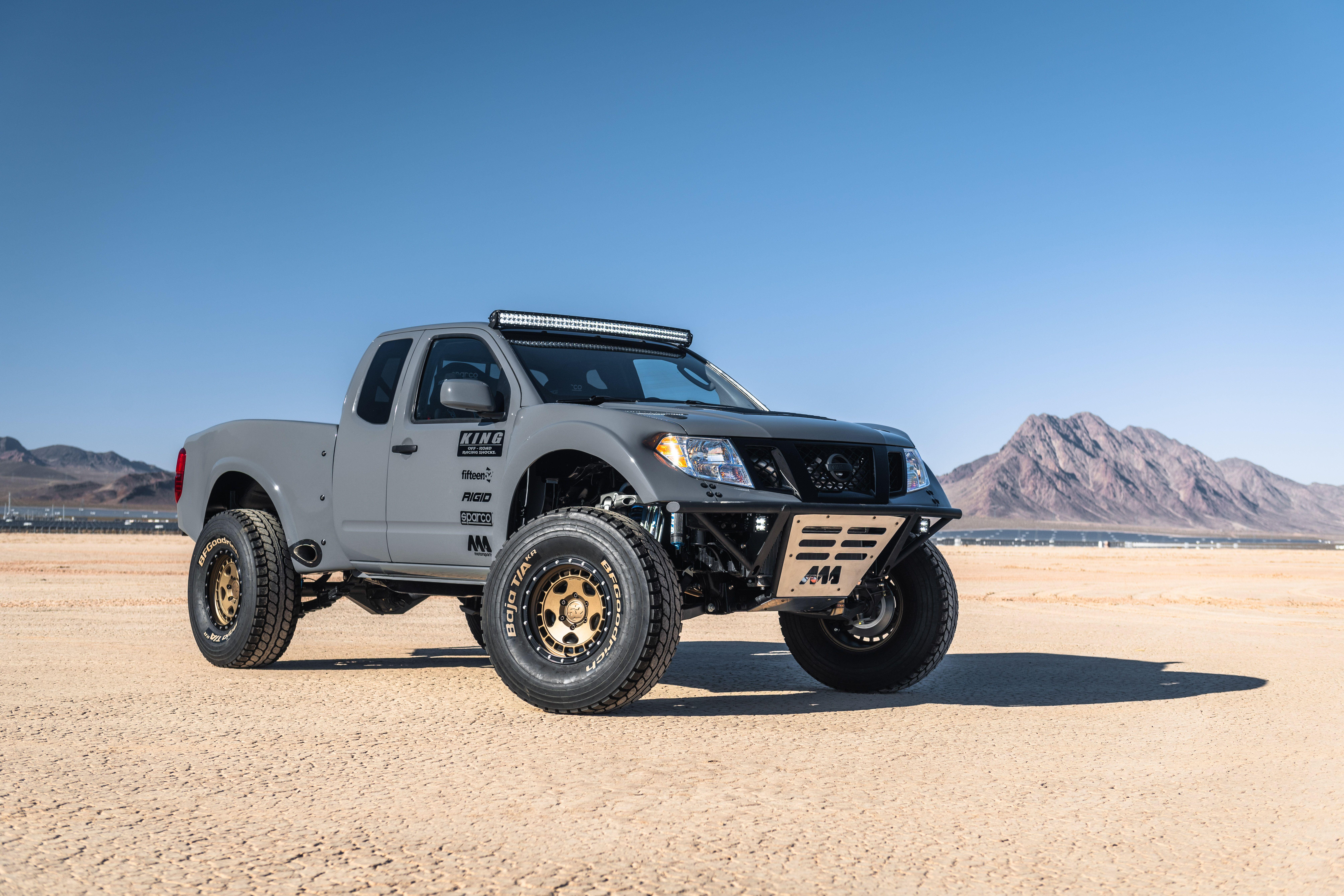 2019 Nissan Frontier Desert Runner Concept @ Top Speed