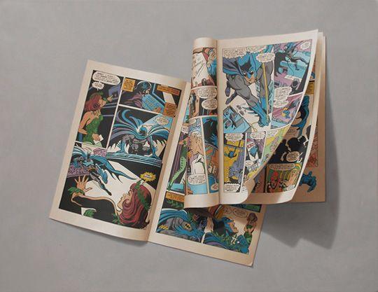 Não são fotos, como o título disse, são ilustrações. Esse trabalho fantástico foi feito por Sharon Moody, que é conhecido por seus trabalhos hiper-realistas