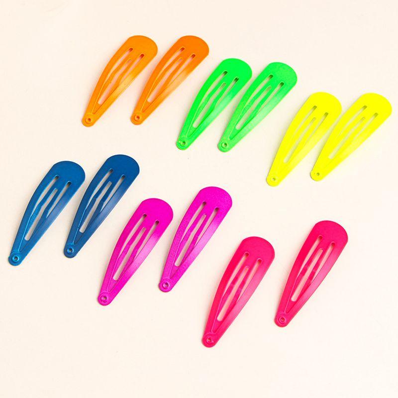 Paint Hair Clips Hairpins For Fashion Girls Women Diy Glitter Snap Hair Clips Cheap Hair Accessories Kids Hair Clips Fashion Hair Accessories