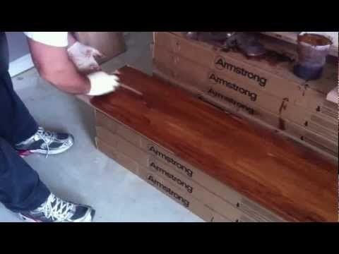 Best How To Refinish Oak Hardwood Stairs Staining Youtube 400 x 300