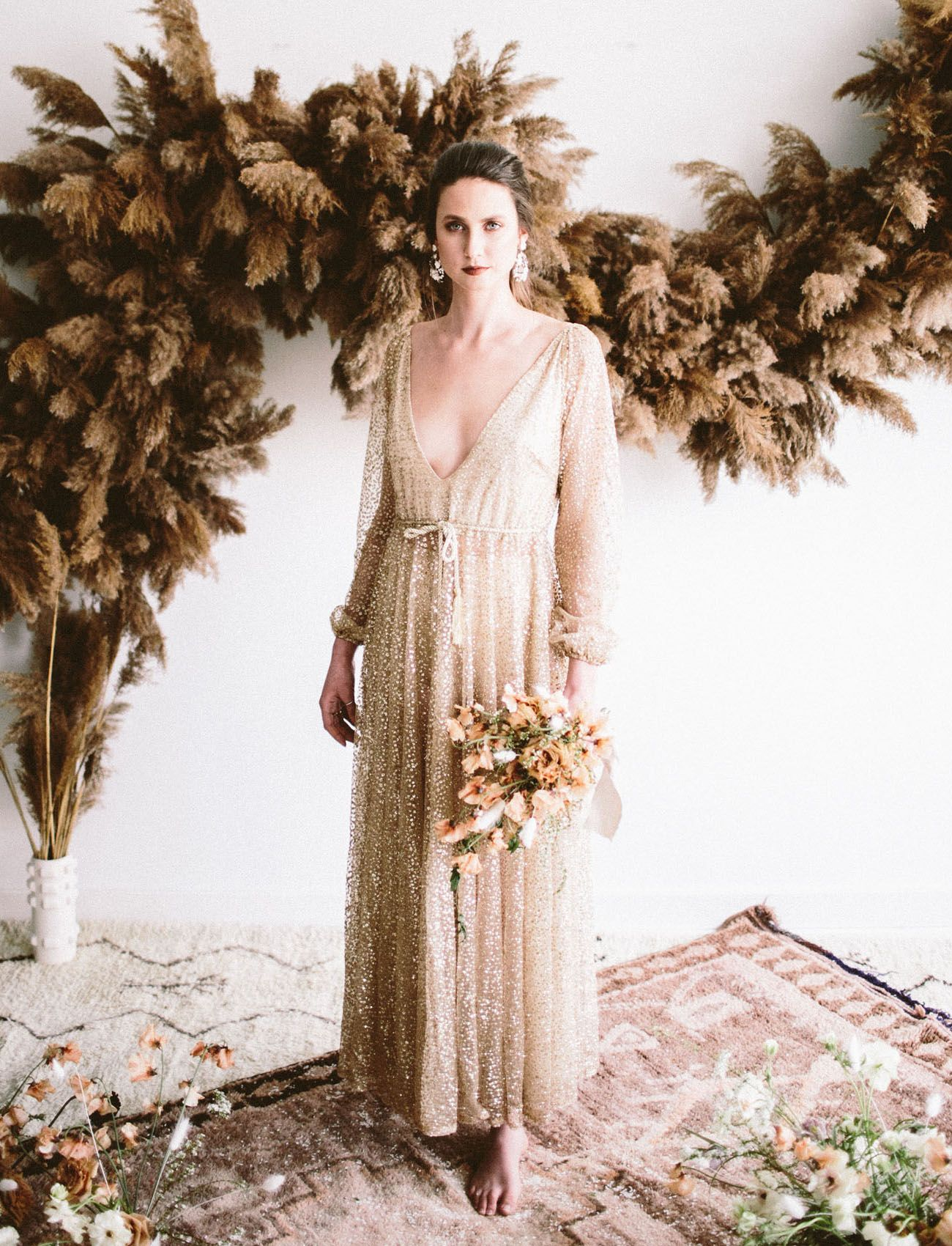 1a4abe951d5c As Winter Shifts to Spring: Modern + Moody Wedding Inspiration ...
