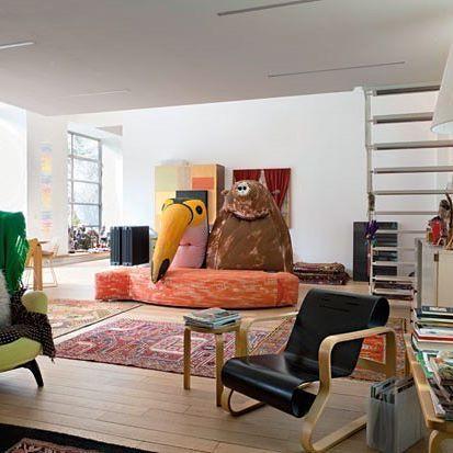 Casa de Italo Rota e Margherita Palli, em Milão, Itália. Projeto de Italo Rota. #arquitetura #arte #art #artlover #design #architecturelover #instagood #instacool #instadesign #instadaily #projetocompartilhar #shareproject #davidguerra #arquiteturadavidguerra #arquiteturaedesign #instabestu #decor #architect #criative #interiores #estilos #combinações #interiors #styles #combinations #helsimburgo #margheritapalli #milao #italia #italorota