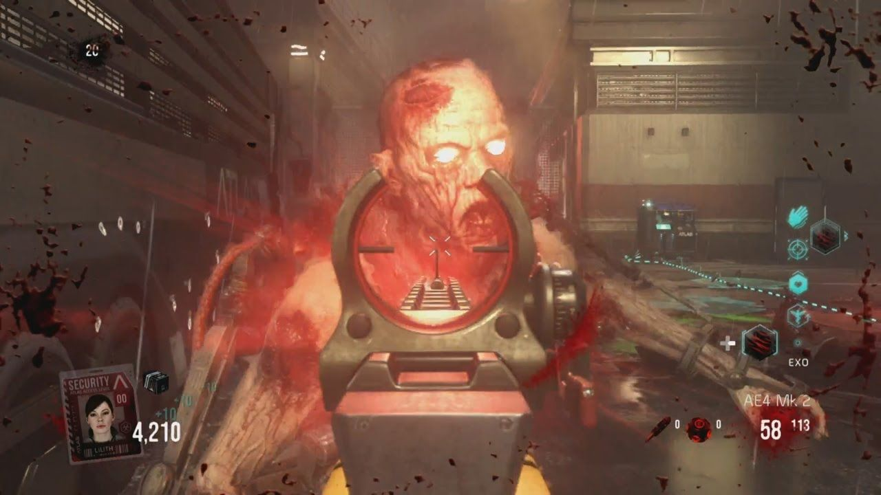 Advanced Warfare Exo Zombies Is Set In Side An Atlas Research - Call duty exo zombies trailer looks epic