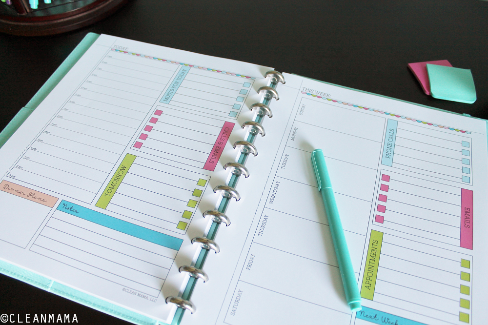 Bring organization and order to your days and home with this comprehensive printable kit designed to bring you success. Incredibly detailed and perfect for any schedule or routine!