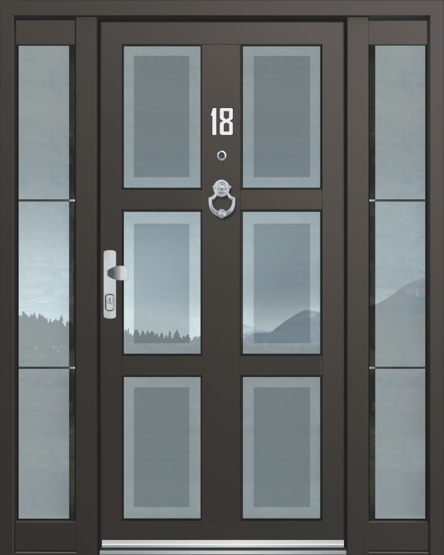 Inotherm Haustür Modell ASS 1779 Tür Mit Viel Glas Preis Auf Anfrage Bei  Www.1001